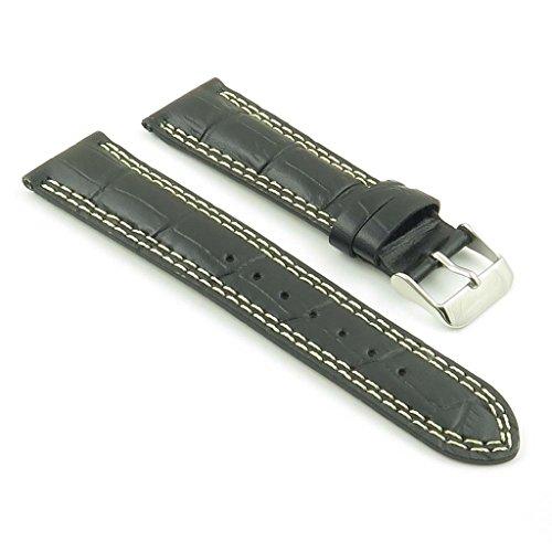 dassari-president-bande-pour-montre-en-cuir-gaufr-crocodile-noir-pour-jaeger-lecoultre-19mm-19-17