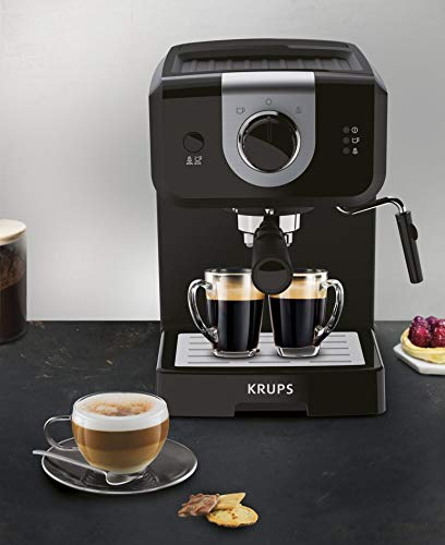 Krups XP320840 Opio Steam and Pump Coffee Machine