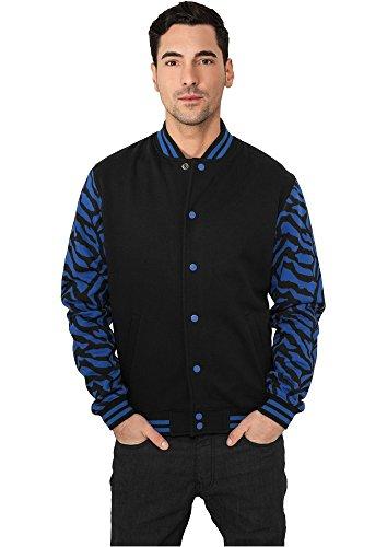 TB505 2-tone Zebra College Jacket Herren Jacke - 3