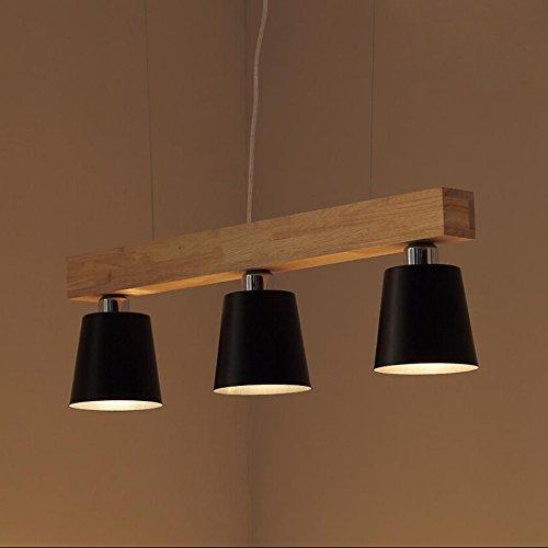 suspension dimmable 5w lampe led bois plafonnier hauteur. Black Bedroom Furniture Sets. Home Design Ideas