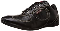 Provogue Mens Black Sneakers - 10 UK