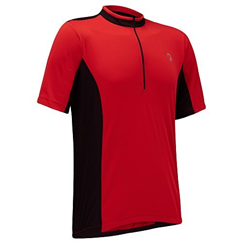 MENS COOLFLO S/S JERSEY   RED/BLACK   5XL