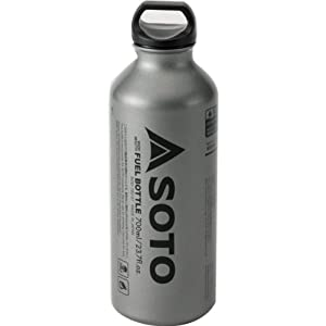41Z975850hL. SS300  - SOTO SOD-700-07 Fuel Bottle for Muka Stove 0.7 Litres Silver