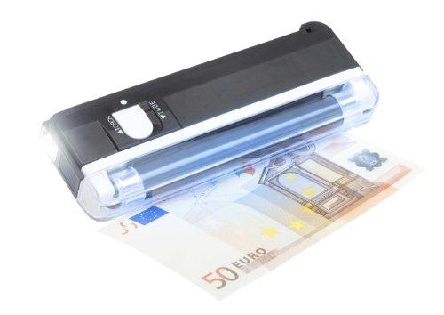 Genie MD 119 Geldscheinprüfer (Starker UV Röhre, integrierter Taschenlampe, Hand Licht, Lampe)