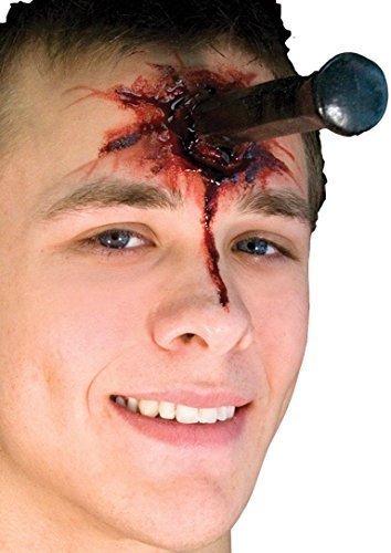 Damen Herren Halloween Blutige Zombie Spezialeffekte Latex Make-up -