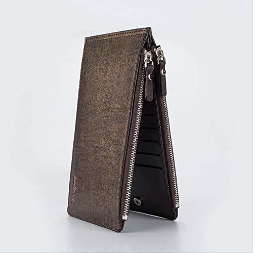 PMFS Lange Visitenkartenhalter Telefon Handliche Kupplung Frauen Männer Brieftasche Männlich Weiblich Geldbörse Big Money Bag Für