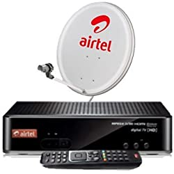 Airtel Digital Tv Hd Set Top Box With Free 1 Month 199 My Plan Hd Pack With Recording