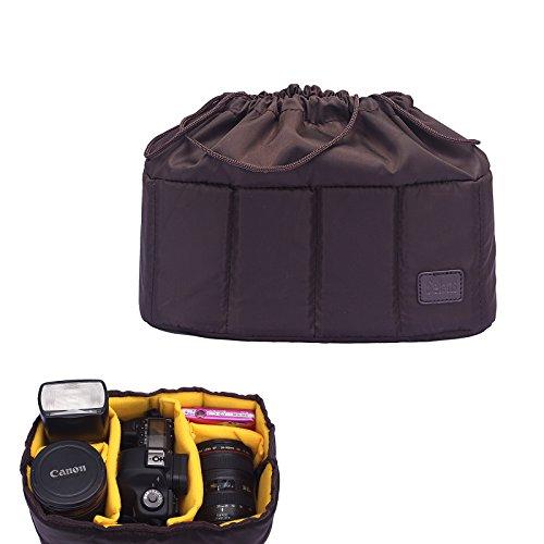 Selens Stoßfeste Wasserdichte Innentrennbar Partition Kameratasche Objektivtasche Beutel Tragtasche Schutzhülle für DSLR SLR Kamera, DIY Ihnen Gewünschte Tasche