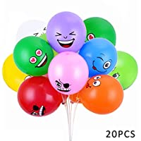 Emoji Party Balloons Latex Balloons