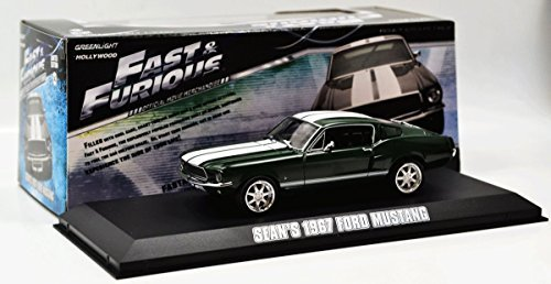 1967 Ford Mustang The Fast and The Furious Movie (2006) Tokyo Drift 1/43 by Greenlight 86211 by Greenlight