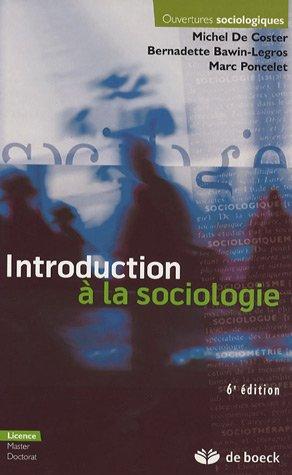 Introduction à la sociologie : Edition 2006