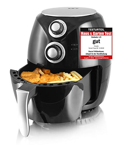 Emerio Heißluftfritteuse, Airfryer, Smart Fryer, Test