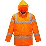 Atomic Hi Vis Verkehr Jacke - Orange, XL