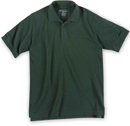5.11Herren Utility Short Sleeve hoch Polo Shirt LE Green