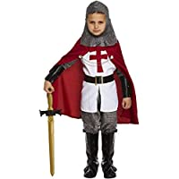 FANCY DRESS CHILD KNIGHT DELUXE MEDIUM 7-9 YRS