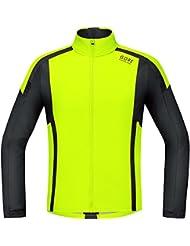 GORE RUNNING WEAR Herren Soft Shell Laufjacke/Shirt, GORE WINDSTOPPER, AIR WS SO Shirt long, SWSAIR