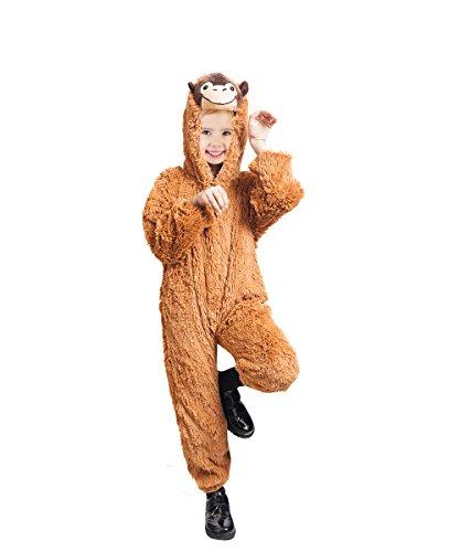 PUS Orang- Utan-s Kostüm-e F129 Gr. 104-110, Kat. 3, Achtung: B-Ware Artikel. Bitte Artikelmerkmale lesen! kleine Kind-er Mädchen Junge- Tier-e AFFE-n Fasching-s Karneval-s Geburtstags- Geschenk-e (Orang-utan-kostüm)