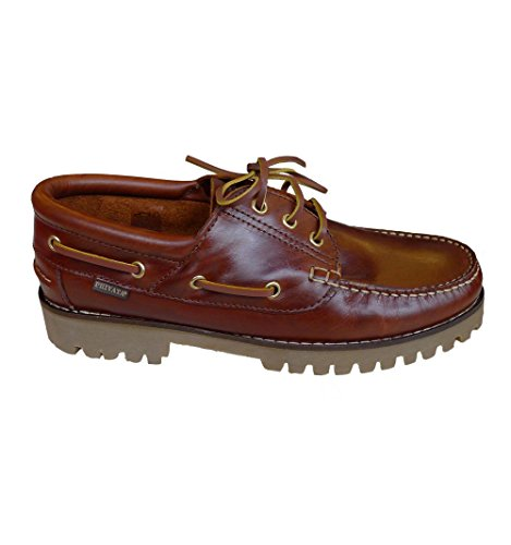 Privata , Chaussures bateau pour homme Marron - Marrón