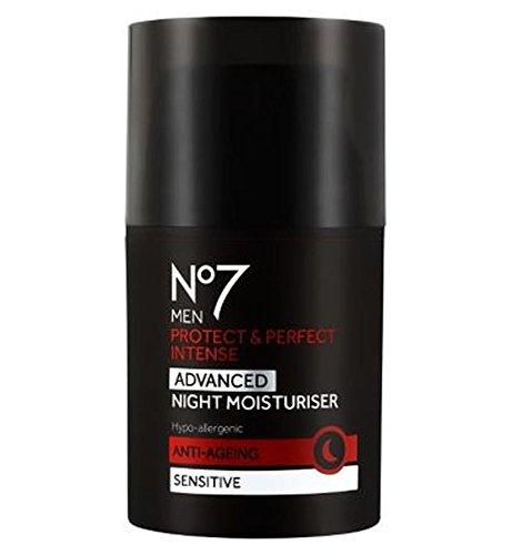 No7 Protect & Parfaite Hommes Intense Avancée Nuit Hydratant - Lot De 2