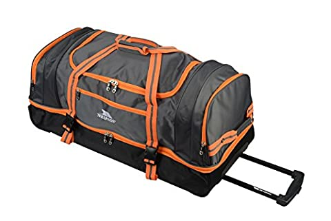 Trespass Galaxy Sac de voyage à roulettes/sac de sport bleu Orange 80 cm