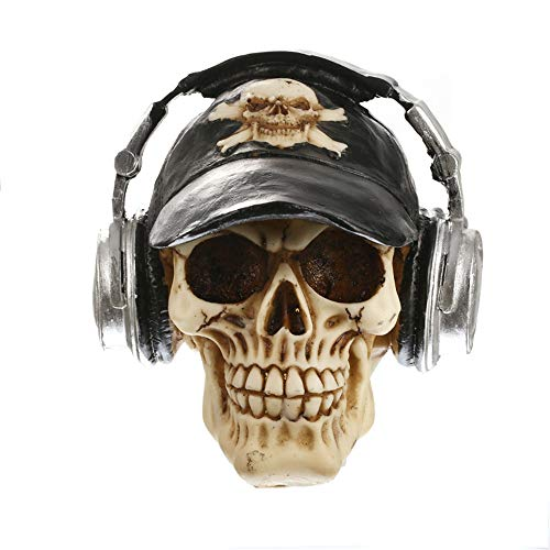 Halloween deko Skull,Miya Halloween Ornamente Simulation Modell Menschlichen -