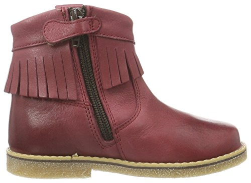 FRODDO Froddo Girls Children Ankel Boots, Bottines à doublure froide fille Rouge - Bordeaux