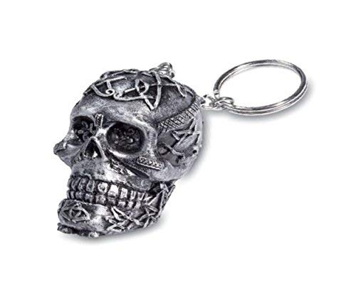 KATERINA PRESTIGE Schlüsselanhänger, keltischer Schädel, BROHF1583, Mehrfarbig