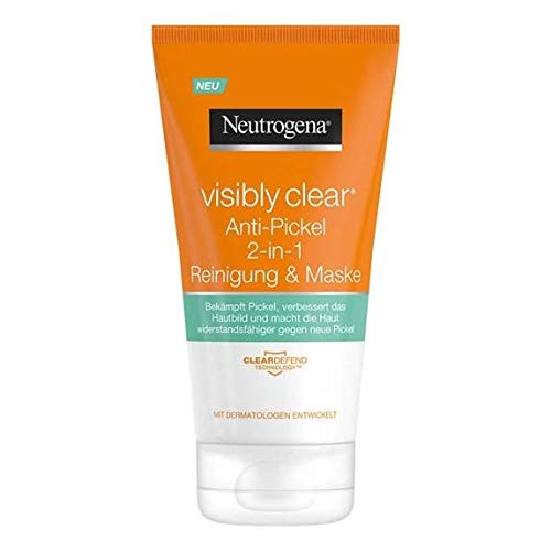 NEUTROGENA Visibly Clear Reinigungsmaske 2 in 1, 150 ml