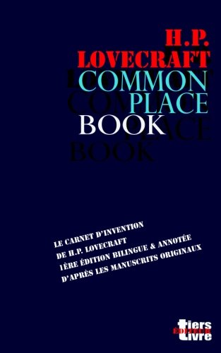 Commonplace Book: le carnet d'invent...