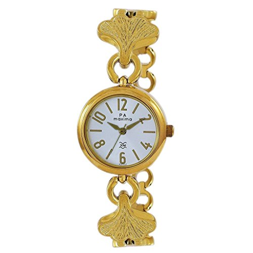 Maxima Analog Silver Dial Women's Watch - 49740BMLY image