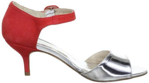 Paco Gil P-2436, Sandales femme Argent (Silver)