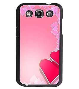 ColourCraft Love Hearts Design Back Case Cover for SAMSUNG GALAXY GRAND QUATTRO I8552 / WIN I8550
