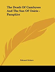 The Death of Cambyses and the Sun of Osiris - Pamphlet