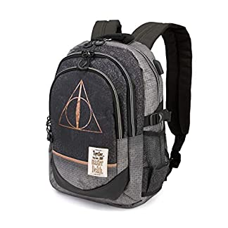 41Z9JbvTw1L. SS324  - Karactermania Harry Potter Deathly Hallows - Mochila Tipo Casual, 44 cm