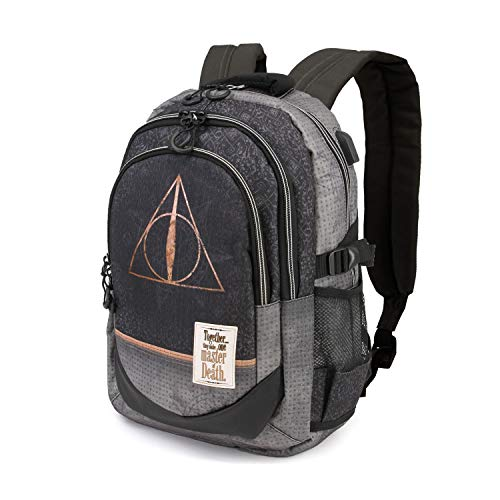 Karactermania Harry Potter Deathly Hallows - Mochila Tipo Casual, 44 c