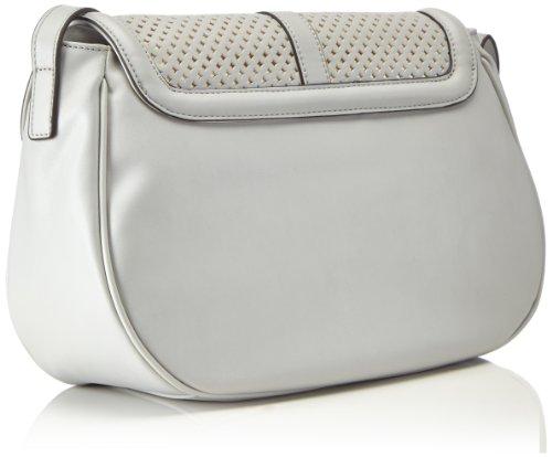 blugirl handbags - Crossover Bag, Borsa a tracolla Donna Grigio (Grigio (grigio))