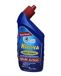 Nicova Toilet Cleaner, Multi Action Liquid Toilet Cleaner (500 ML)