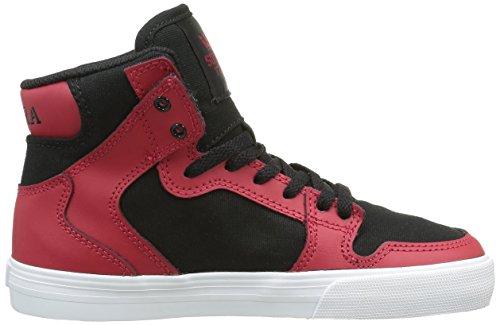 Supra Unisex-Kinder Vaider Sneaker Red (Red/Black/White)