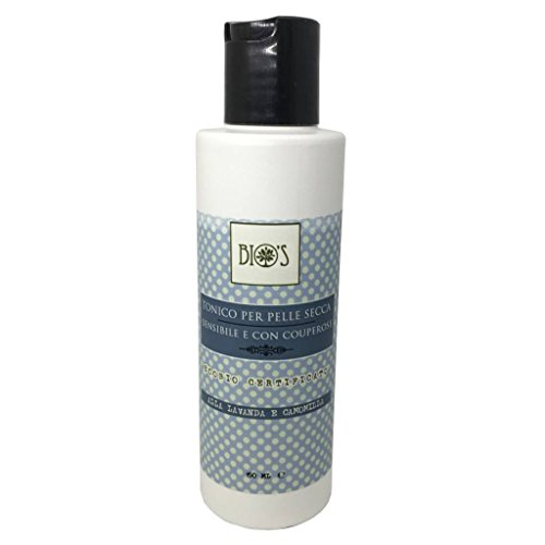 BIO\'S - Balancing Gesichtswasser - Trockene, empfindliche Haut und mit Rosacea - Lavendel, Kamille und Kornblume - Paraben frei und Silikone frei - Vegan - 150 ml