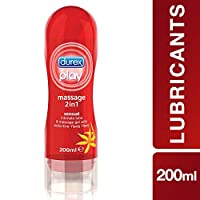 Durex Play Sensual Massage 2in1 Lube with Ylang Ylang - 200ml Gel