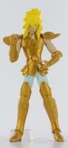 Figurine gashapon Saint Seiya Hyoga du cygne en armure d'or du Verseau