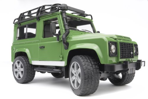 Image of Bruder Land Rover Defender Station Wagon
