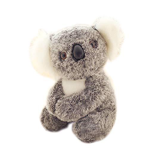 Beito 1pc Koala Linda Animal de Peluche de Felpa muñecas de la Historieta de la simulación Animales Empuje Regalos Juguete Adorable Koala 3D interactivos muñecas Juguetes de Peluche (30cm / 11.8inch)