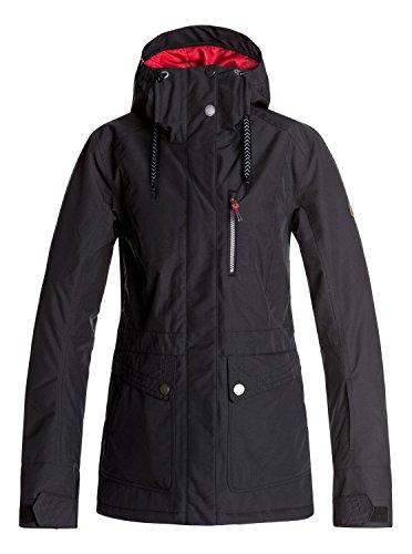Roxy Andie - Snow Jacket for Women - Snow Jacke - Frauen - S - Schwarz