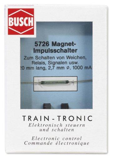 Busch 5726  - 1.0 Un interruptor de pulso importado de Alemania
