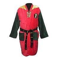 Toy Zany Robin Retro Mens Costume Bathrobe