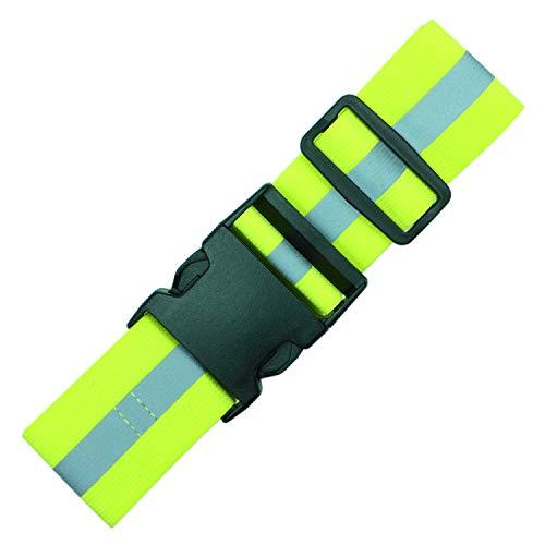 Endura Max Reflectives Reflektierende Elastischen Gürtel Oder Schärpe, Militär Heritage Style Glow Gürtel, Laufen Motorrad Freundlicher, Verstellbar, Lime Green Ultralight, Regular -