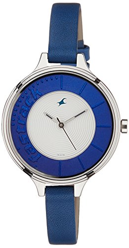 Fastrack Analog Silver Dial Women's Watch - 6122SL01 image