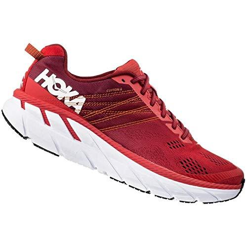 HOKA ONE ONE Clifton 6 Scarpe Sport Uomini Red - 42 - Running/Trail