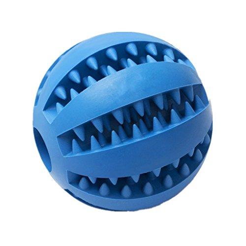 ADOO Boule de jouet pour chien en caoutchouc naturel Jouets pour chien Boule de chien en caoutchouc naturel robuste pour les chats Jeux de chien longue durée Aussi pour les chiots chewing